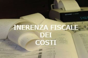 Reddito d'impresa: inerenza di un costo e ripartizione dell'onere probatorio – Cassazione sentenza n. 1544 del 2016