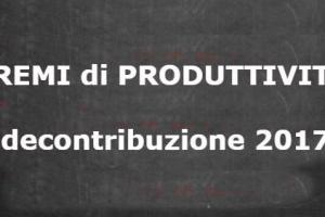 Premi di Produttività: misura del bonus per il 2017