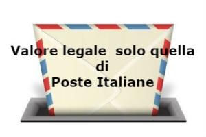 Raccomandata con valore legale: solo quella delle Poste Italiane – Cassazione sentenza n. 26778 del 2016