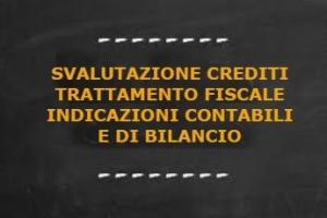Perdite su credito: trattamento fiscale ed indicazioni in bilancio