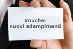 Voucher: comunicazione preventiva e modalità operative