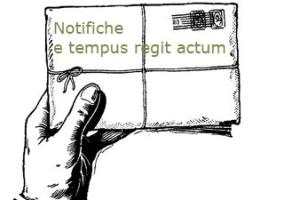 Notifiche: principio processuale del tempus regit actum Cassazione ordinanza n. 2276 del 2017
