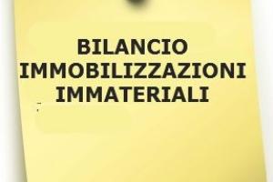 Bilancio: iscrizione delle immobilizzazioni immateriali