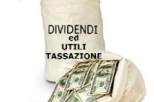 Utili e dividendi: regime di tassazione