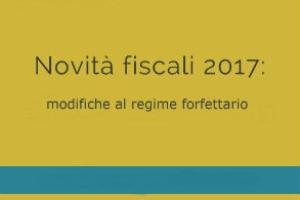 Regime forfettario: novità 2017 per professionisti e piccole e medie imprese