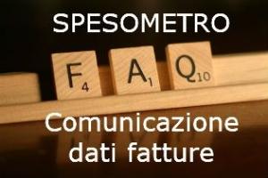 Spesometro comunicazione dati fatture – Modalità di compilazione – FAQ