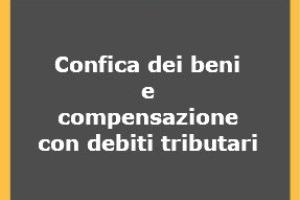 Il debito tributario si estingue a seguito dell confisca – Risoluzione n. 114/E del 2017