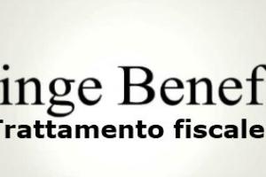 Fringe benefit trattamento fiscale