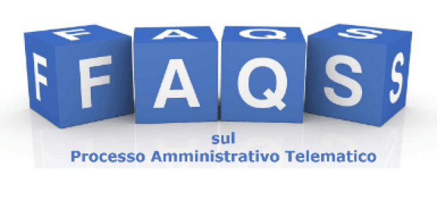 Processo Amministrativo Telematico Faqs Degli Uffici