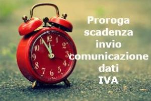 Proroga dell'invio della Liquidazione periodica IVA del trimestre  2017 – Comunicato dell'Agenzia delle Entrate