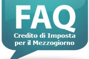 FAQs – Credito di imposta per gli investimenti nel Mezzogiorno
