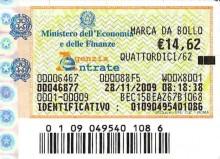 Imposta di bollo: atti notarili chiarimenti - Cassazione sentenza n. 21307 del 2013