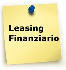 Leasing Finanziario modifiche alla deduzione fiscale per imprese e professionisti